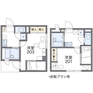 1K Mansion in Botan - Koto-ku Floorplan