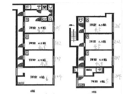 Private Guesthouse to Rent in Nakano-ku Floorplan