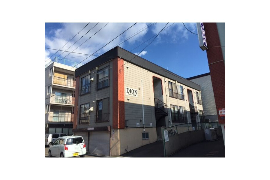 1R Apartment to Rent in Sapporo-shi Toyohira-ku Exterior