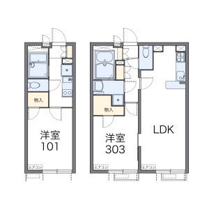 1K Mansion in Chuo - Nakano-ku Floorplan