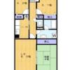 3LDK Apartment to Rent in Kawasaki-shi Takatsu-ku Floorplan