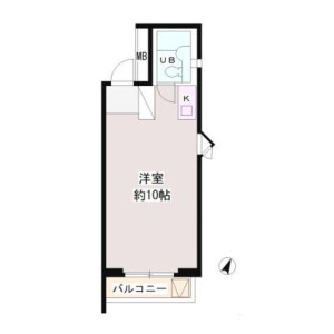 1R Mansion in Shibuya - Shibuya-ku Floorplan