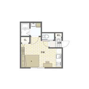 1K Mansion in Takada - Toshima-ku Floorplan