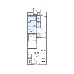 1K 아파트 in Nagasaki - Toshima-ku Floorplan