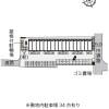 1K アパート 松阪市 配置図