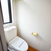 在港區內租賃1DK 公寓大廈 的房產 廁所