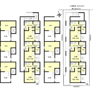 Whole Building {building type} in Taitoritori - Nagoya-shi Minami-ku Floorplan