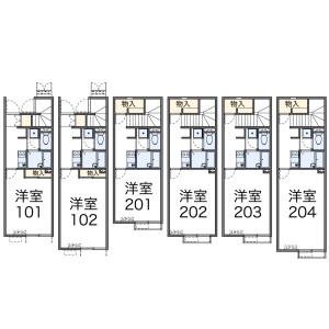1K Mansion in Waseda minamicho - Shinjuku-ku Floorplan