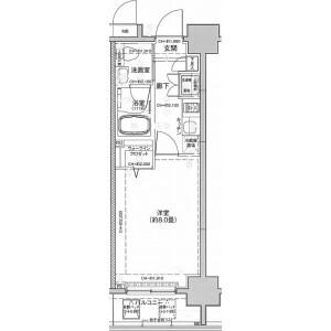 墨田区両国-1K公寓大厦 楼层布局