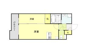 福岡市博多区博多駅前-1LDK{building type}