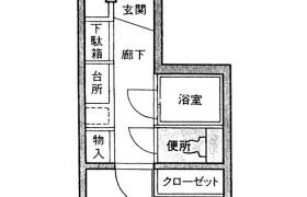 1R {building type} in Fukuhama - Fukuoka-shi Chuo-ku