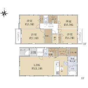 4LDK {building type} in Higashioizumi - Nerima-ku Floorplan