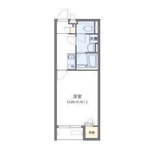 1K Apartment in Menuma - Kumagaya-shi Floorplan