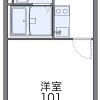 在鶴ヶ島市內租賃1K 公寓大廈 的房產 房間格局