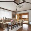 在吾妻郡草津町购买整栋 独栋住宅的 起居室