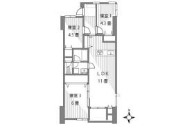3LDK {building type} in Honcho - Kawaguchi-shi
