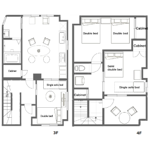 3LDK Mansion in Tabata - Kita-ku Floorplan
