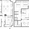 在北區內租賃3LDK 公寓大廈 的房產 房間格局