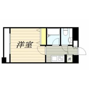 1K Mansion in Komagata - Taito-ku Floorplan