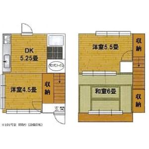 3DK House in Nishishinkoiwa - Katsushika-ku Floorplan