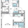 2LDK Apartment to Buy in Nerima-ku Floorplan