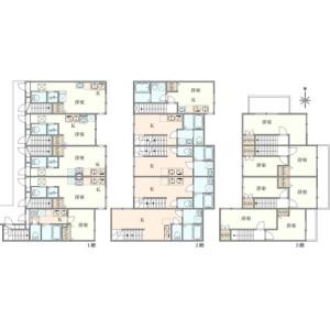 Whole Building {building type} in Nakamagome - Ota-ku Floorplan
