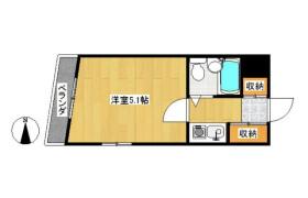 新宿区 北新宿 1K マンション