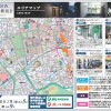 1K Apartment to Rent in Shinjuku-ku Section Map