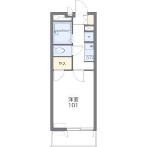 1K Mansion in Koshigaya(chome) - Koshigaya-shi Floorplan