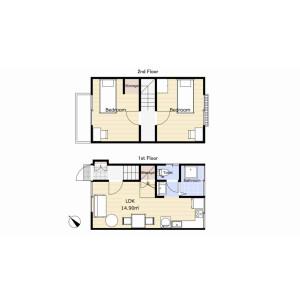 2LDK House in Higashinakano - Nakano-ku Floorplan