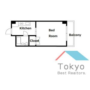 1K Mansion in Nishiikebukuro - Toshima-ku Floorplan