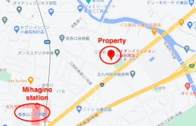 1R {building type} in Enamicho - Kitakyushu-shi Kokurakita-ku