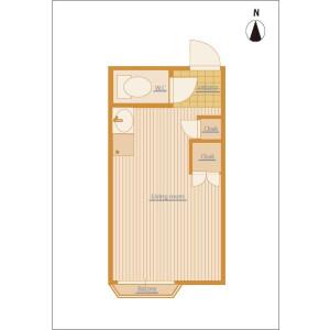 1R Apartment in Kuwazu - Osaka-shi Higashisumiyoshi-ku Floorplan