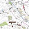 3LDK Apartment to Rent in Shinagawa-ku Map