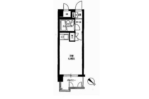 在福岡市博多区购买1K 公寓大厦的 内部