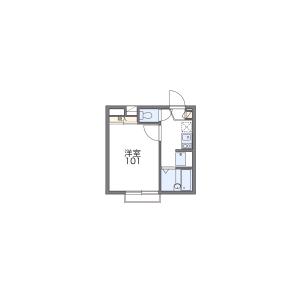 1K Apartment in Higashiboridori - Niigata-shi Chuo-ku Floorplan