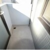 1K Apartment to Rent in Osaka-shi Tennoji-ku Balcony / Veranda