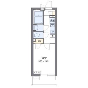 1K Mansion in Shimochiai - Saitama-shi Chuo-ku Floorplan