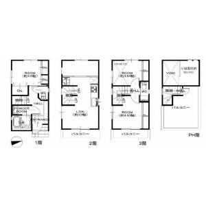 1SLDK {building type} in Ebisu - Shibuya-ku Floorplan