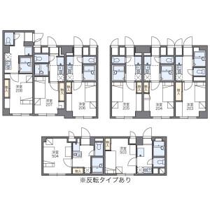 1K Mansion in Udagawacho - Shibuya-ku Floorplan