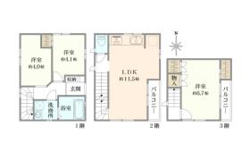 3LDK {building type} in Honamanuma - Suginami-ku
