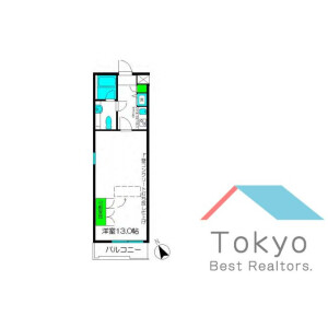 1K Mansion in Kamiochiai - Shinjuku-ku Floorplan