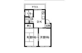 2DK Mansion in Tsukamoto - Osaka-shi Yodogawa-ku