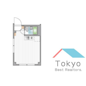 新宿区新宿-1R公寓大厦 楼层布局