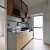 在魚津市內租賃2K 公寓大廈 的房產 內部