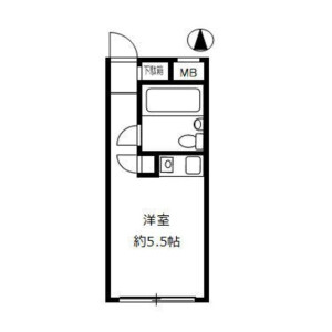 1R Mansion in Kamiikebukuro - Toshima-ku Floorplan