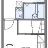 1K Apartment to Rent in Kashiwa-shi Floorplan