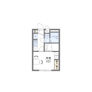1K Apartment in Tsuji - Saitama-shi Minami-ku Floorplan