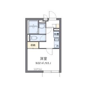 1K Mansion in Minamisenju - Arakawa-ku Floorplan