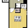 1K Apartment to Buy in Osaka-shi Nishi-ku Floorplan